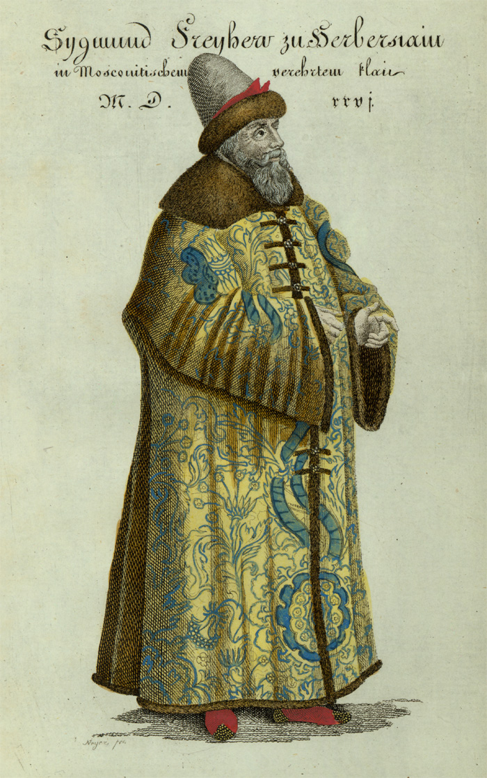 Portrait from Siegmund Freiherr von Herberstein (C135)