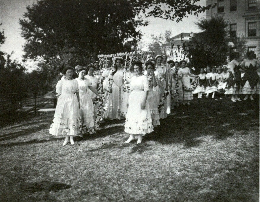 May Day festivities, 1911
