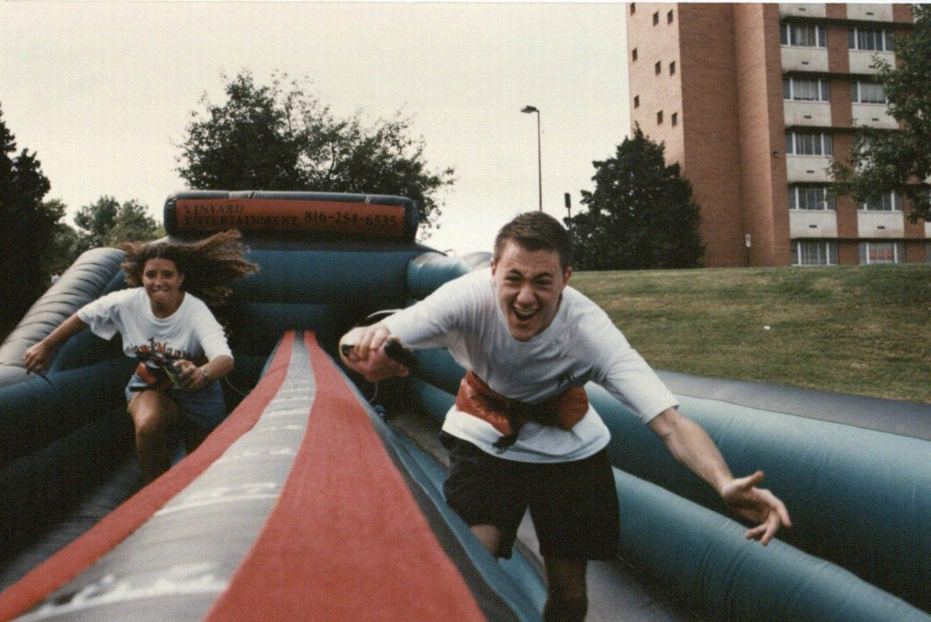 Photograph: More fun at Jayhawk Playfest, 1998
