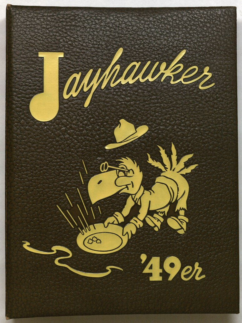 Image of cover of 1949 Jayhawker Yearbook