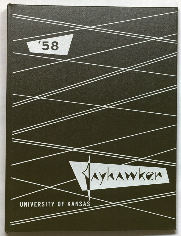Image of Cover of 1958 Jayhawker Yearbook
