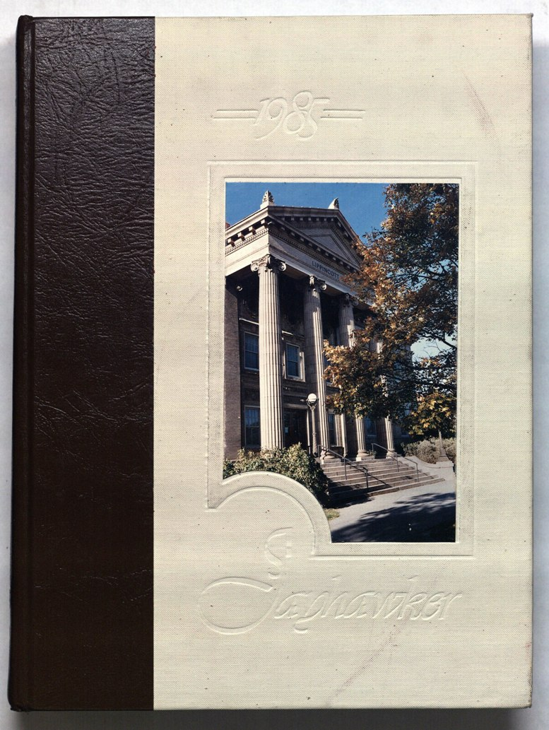 Image of cover of 1985 Jayhawker Yearbook