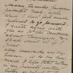 Image of Rossetti to Swinburne [circa Nov. 1871p.1]