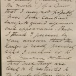 Image of page 2 of Letter from Rossetti to Swinburne.