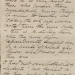 Image of page 3 of letter from Rossetti to Swinburne