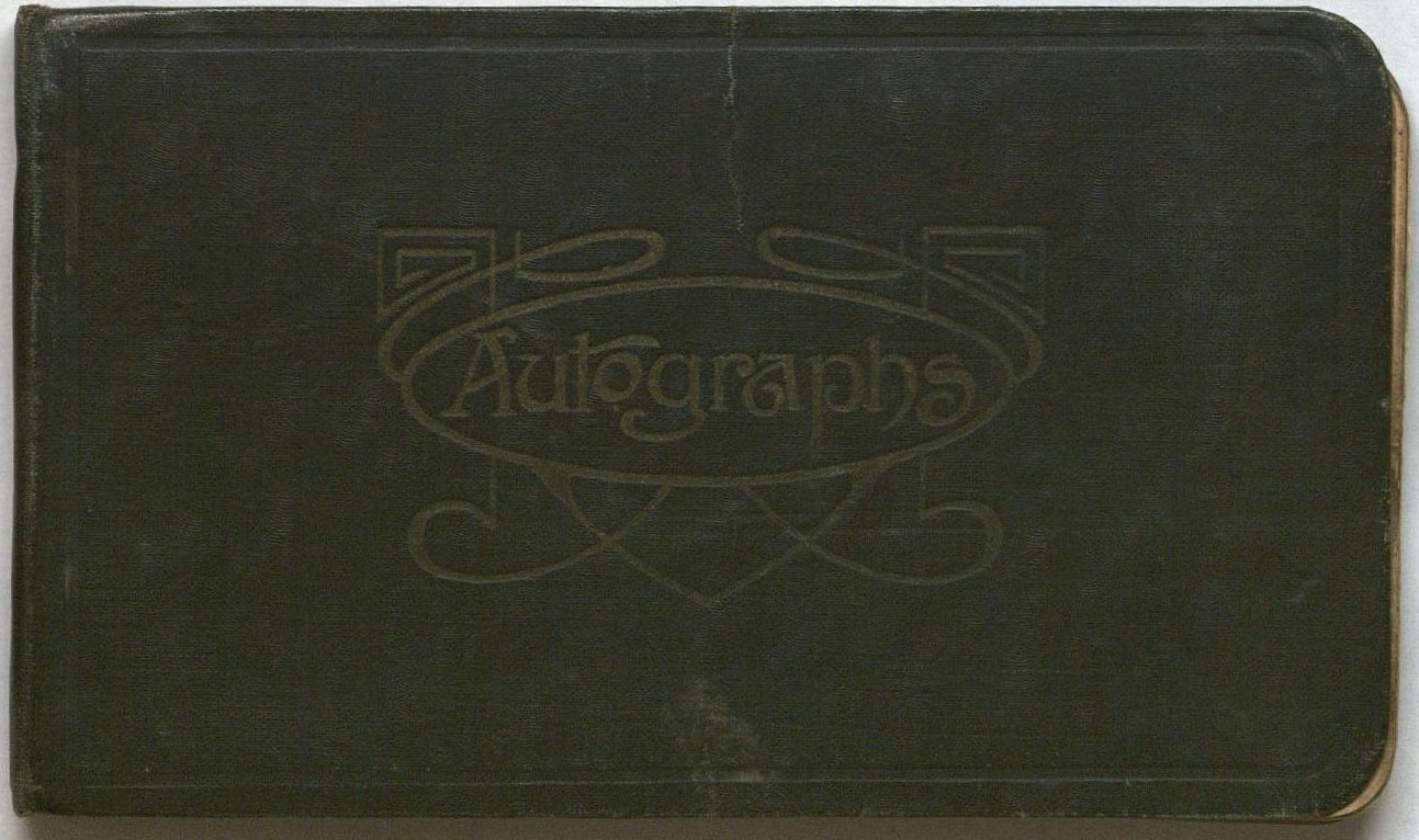Image of cover of Ballykinlar Internment Camp Autograph Book