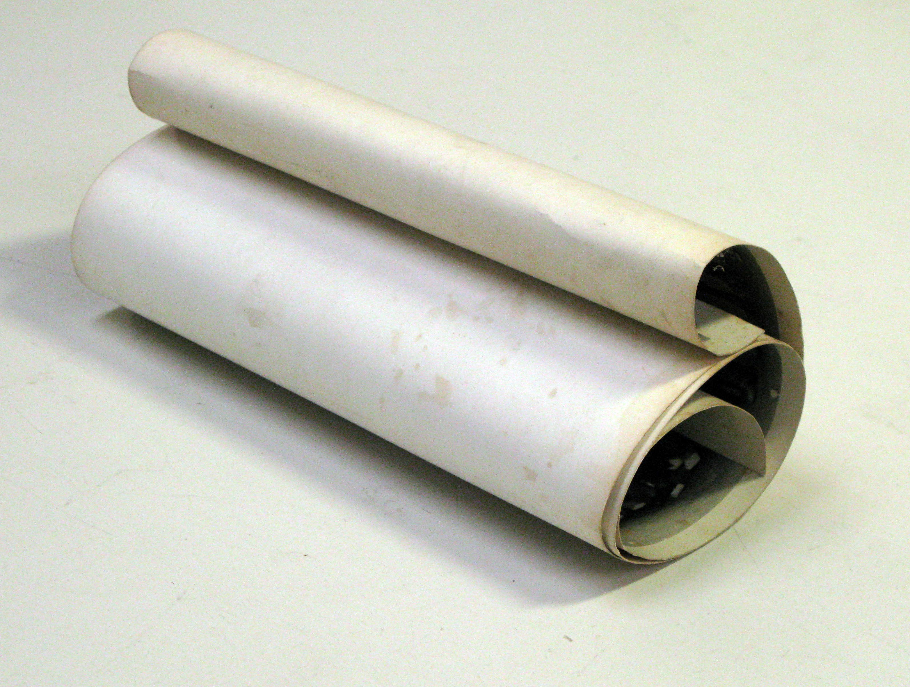 Image of a rolled photograph