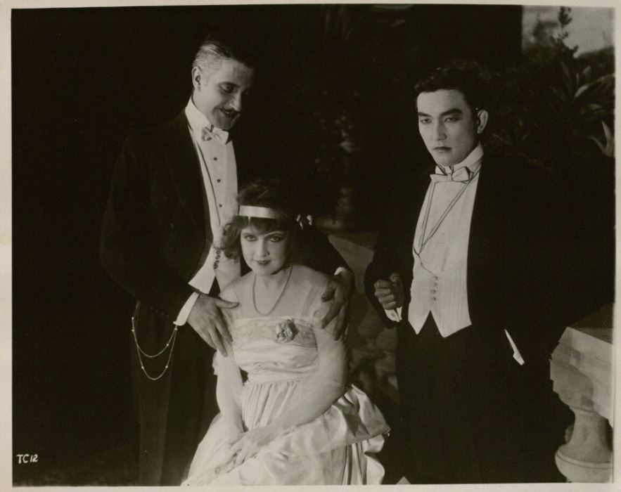 Film still from The Cheat, 1915