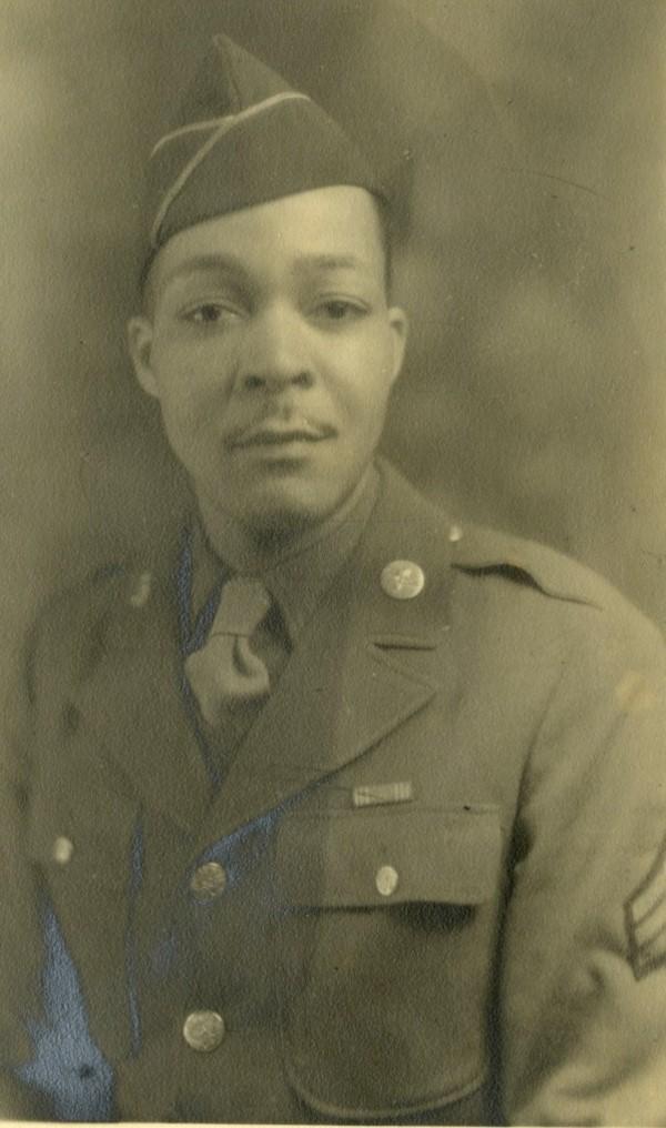 Portrait of Sgt. Thaddeus A. Whayne, circa 1943