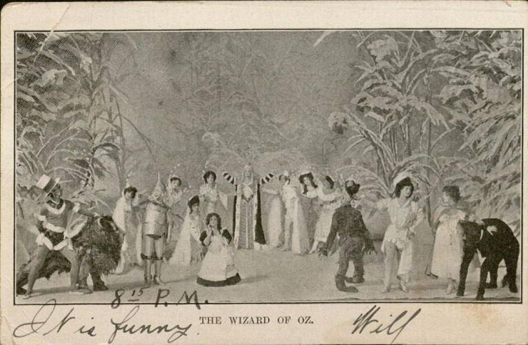 Image of Wizard of Oz postcard 1906