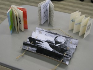 Four structures featured in bookbinding workshop
