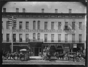 Photograph of the Eldridge Hotel, Lawrence, Kansas