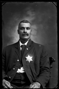 Photograph of Lawrence, Kansas, police officer Sam Jeans