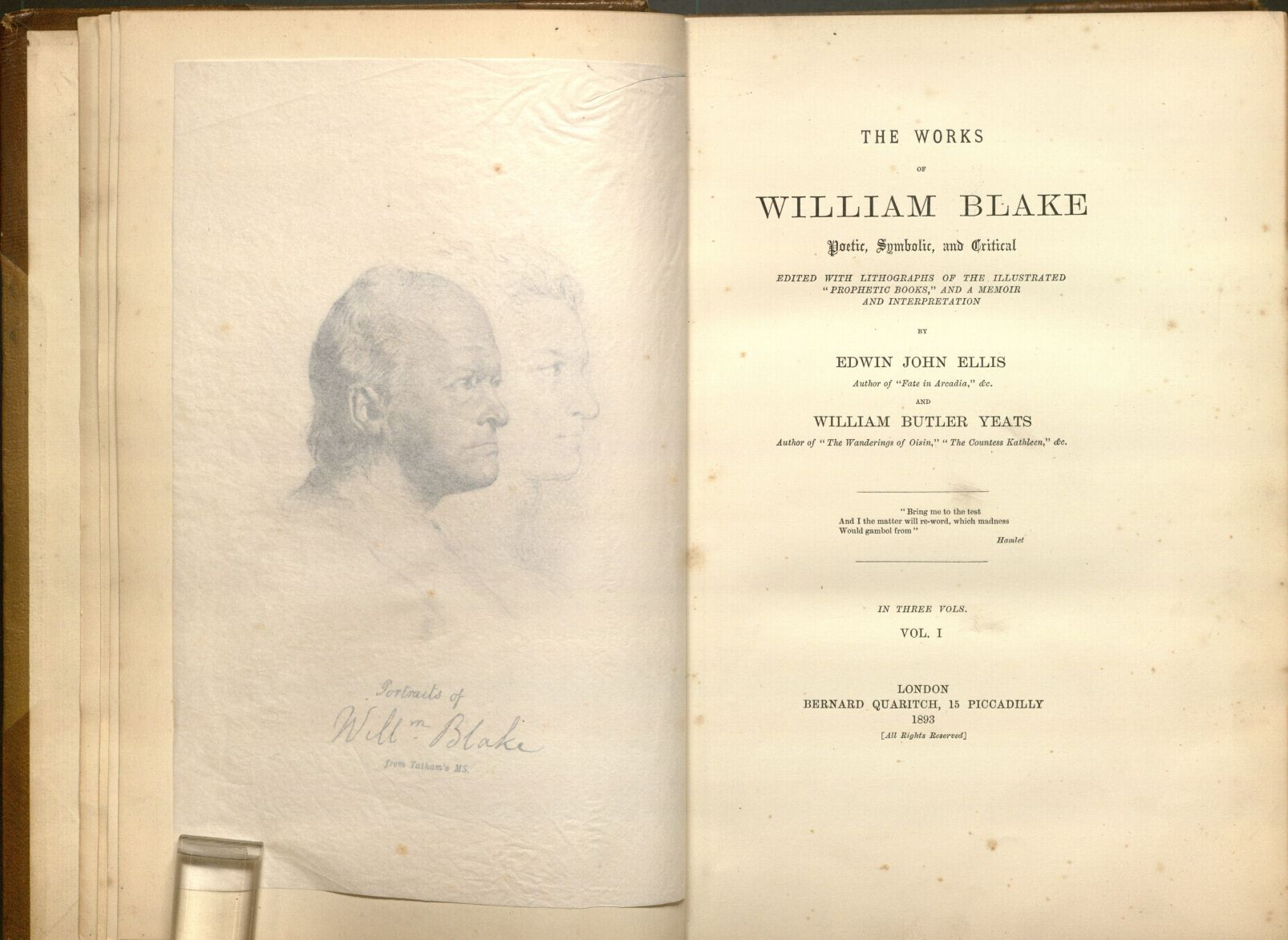 the work of william blake essay