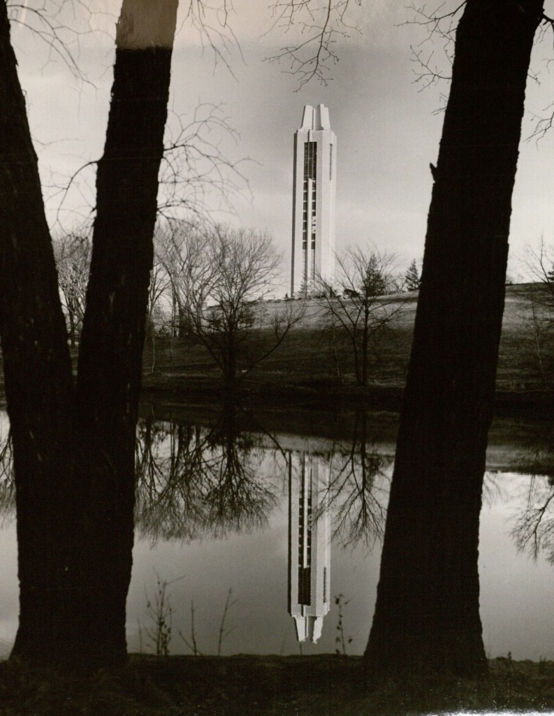 Photograph of the campanile, 1960s