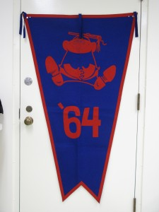 1964 KU class banner