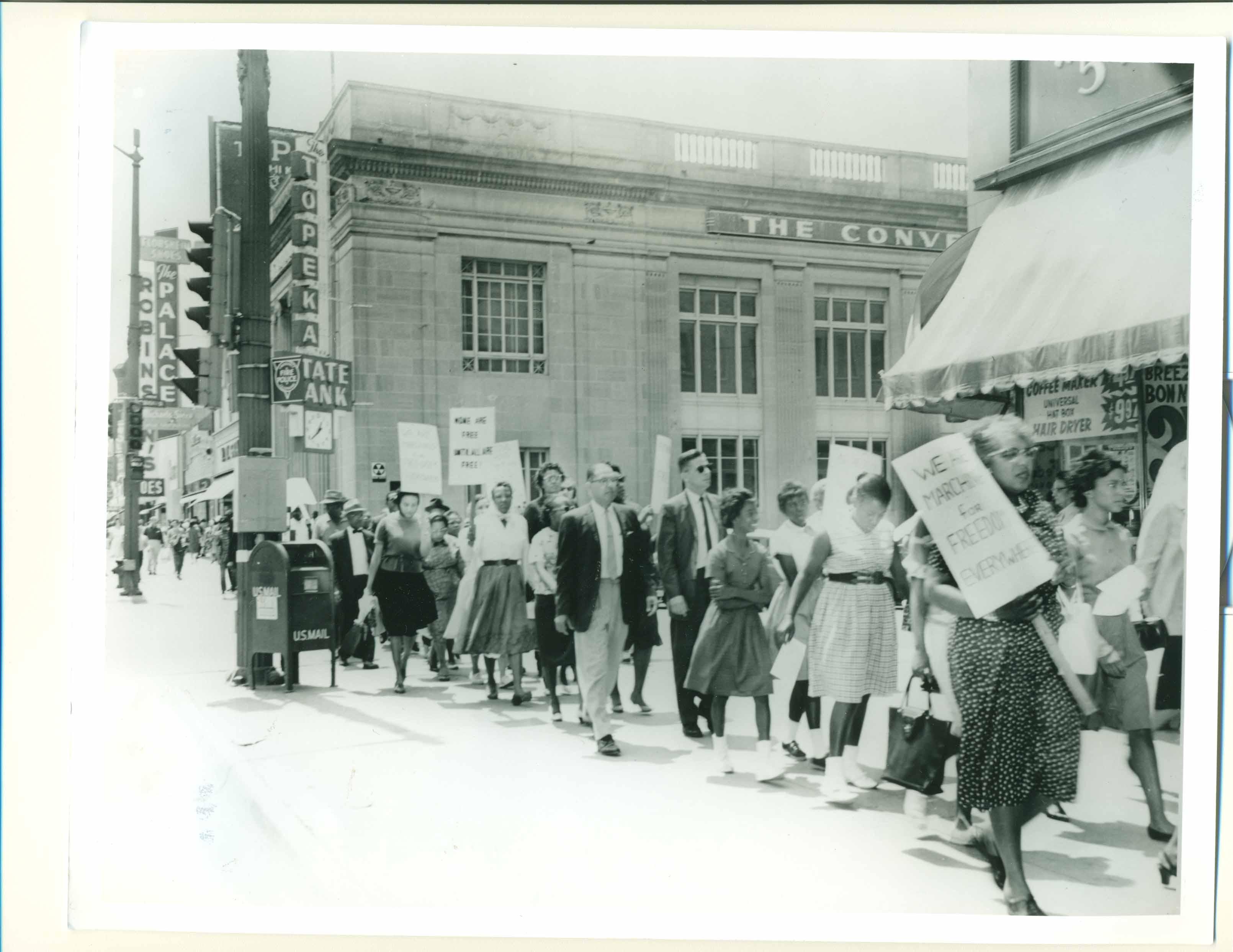 Sympathy March, Topeka, March 1965