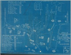 1993 KU Campus Map