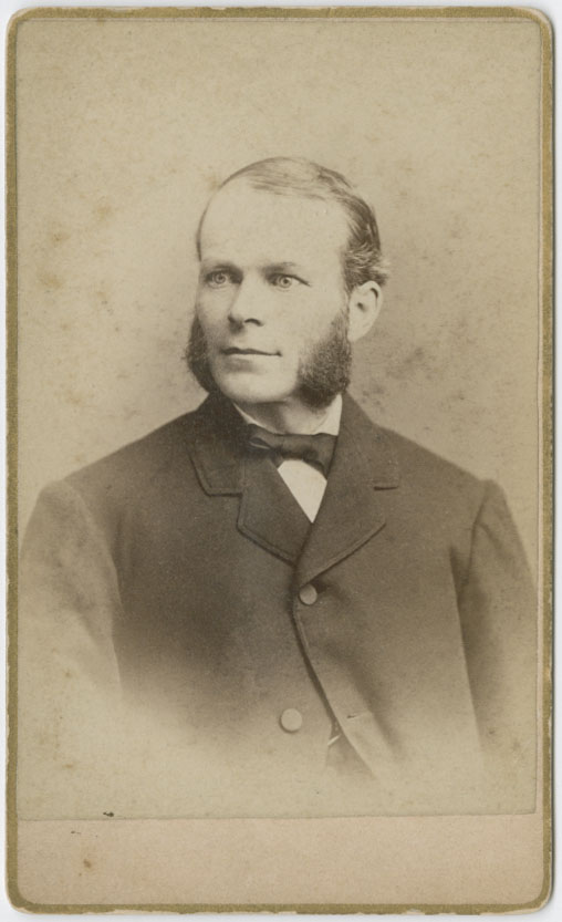 Photograph of Francis Snow, undated