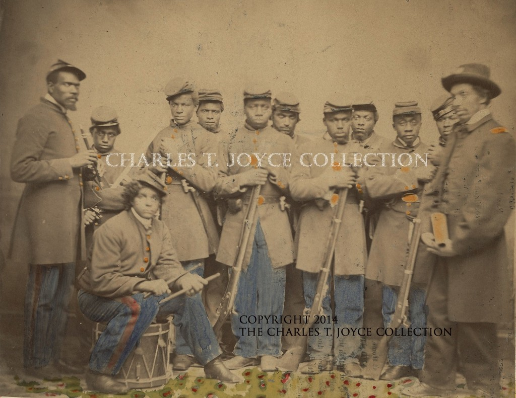 Photograph of African American soldiers from L'Overture Hospital