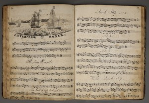 Music manuscript from Kenneth Spencer Research Library, University of Kansas Libraries. Call number E23.