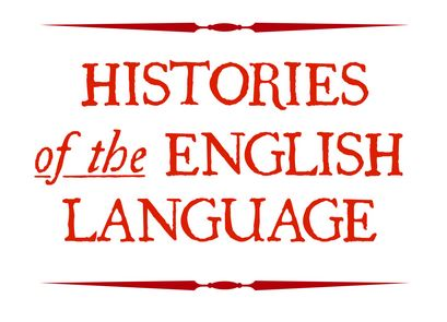 Histories of the English Language Exhibit Title