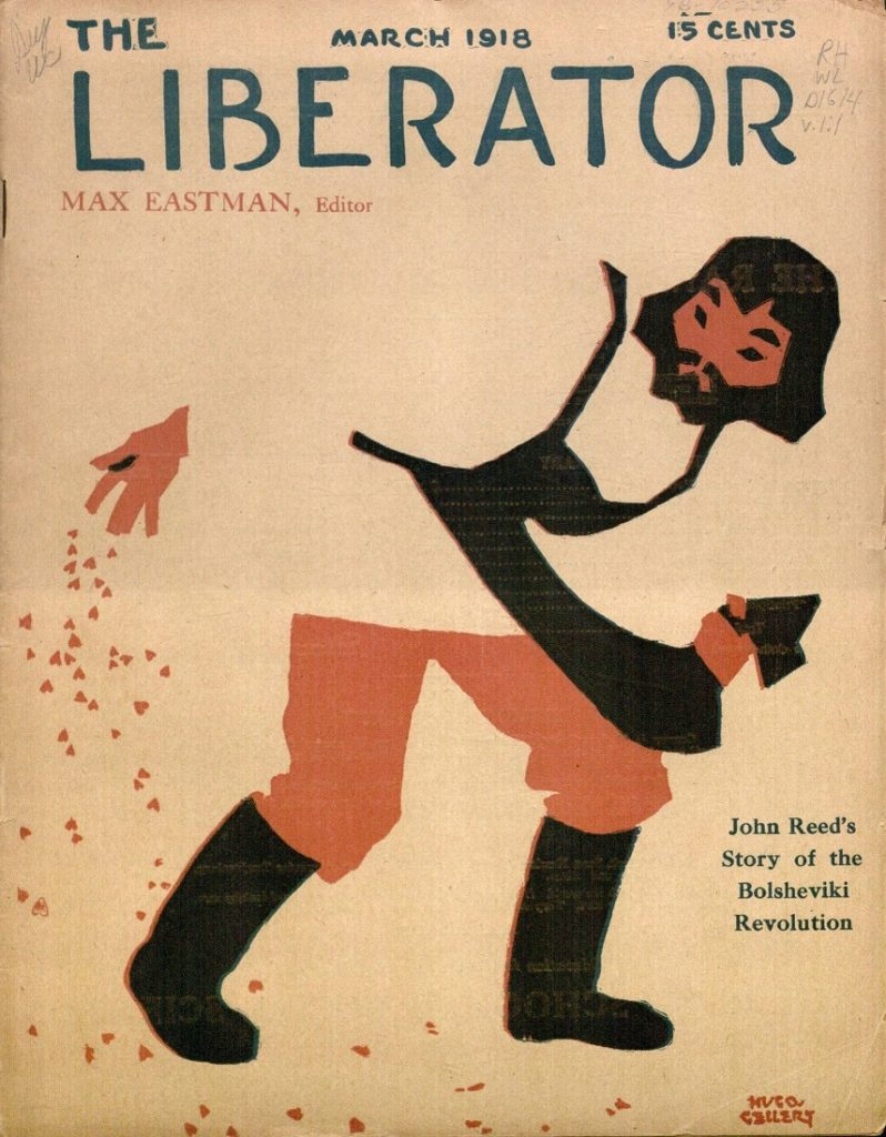 Image of the cover of The Liberator, March 1918