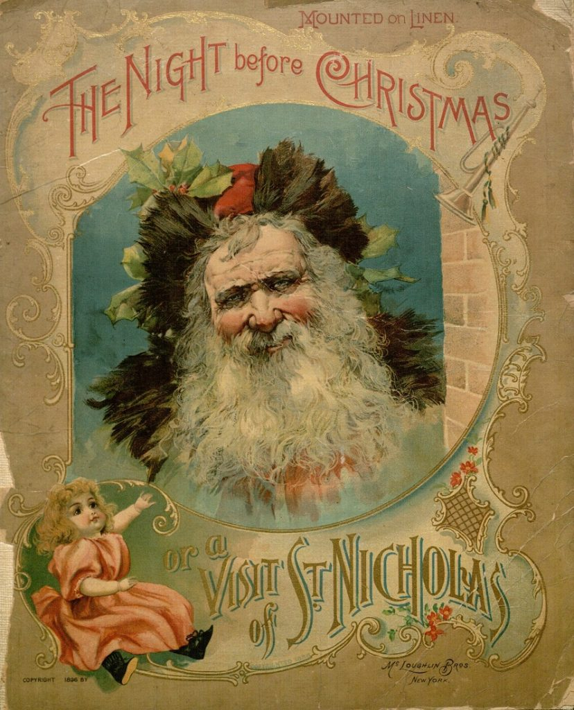 Image of The Night Before Christmas, cover, 1896