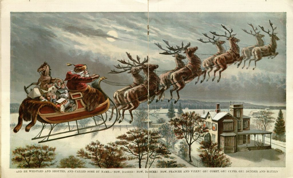 Illustration from The Night Before Christmas, 1896