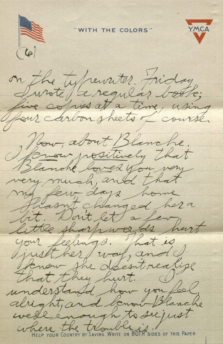 Kenneth Spencer Research Library Blog World War I Letters Of
