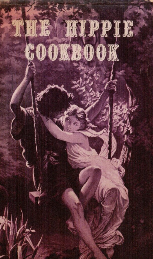 Image of the cover of The Hippie Cookbook, 1970