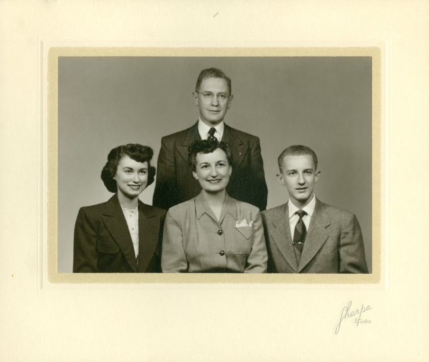 Photograph of the Bassett family, undated