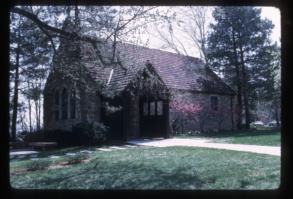 Photograph of Danforth Chapel, 1971
