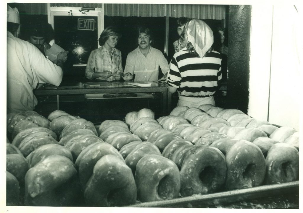Photograph of Joe's Bakery in Lawrence, Kansas, 1970s