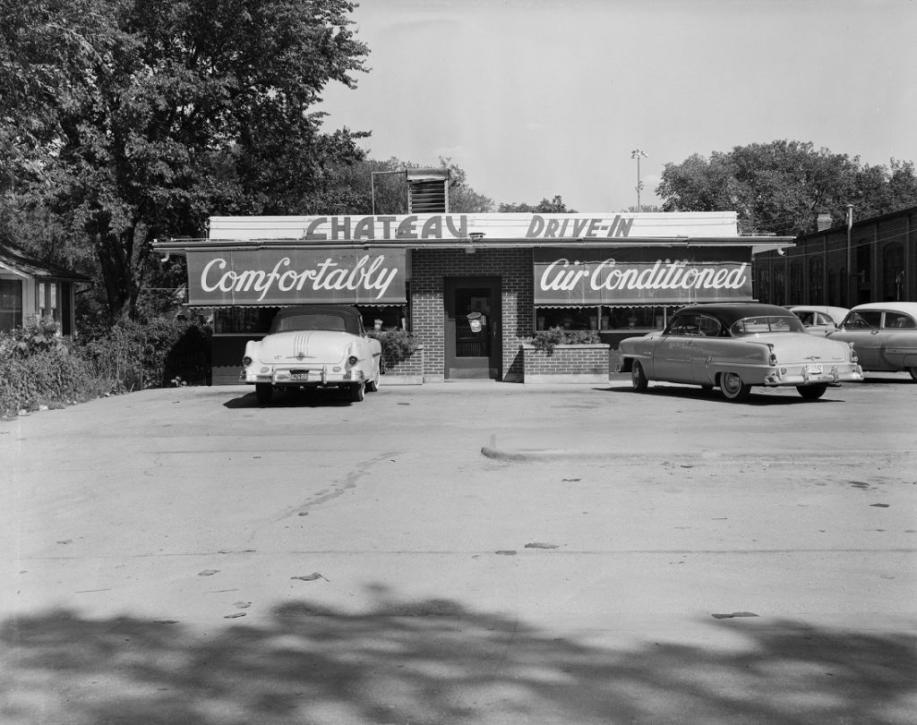 Photograph of the Chateau Drive-In, 1950s