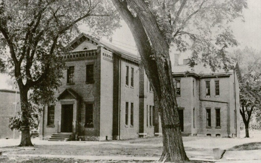 Photograph of Quincy School, undated