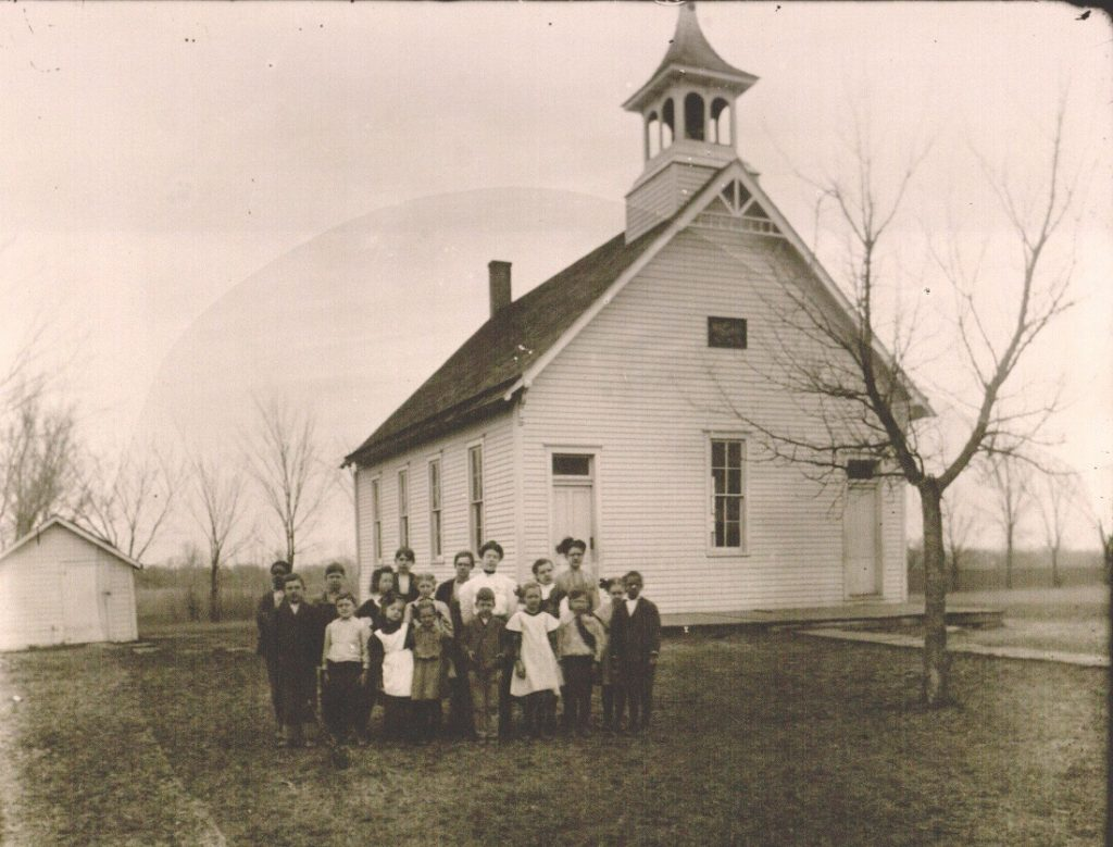 Photograph of Burnette School No. 62, undated