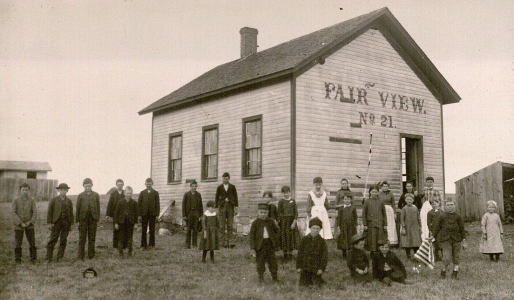 Photograph of Fairview School No. 21, undated