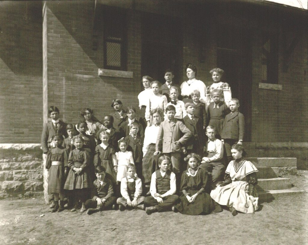 Photograph of Crowder School No. 69, undated