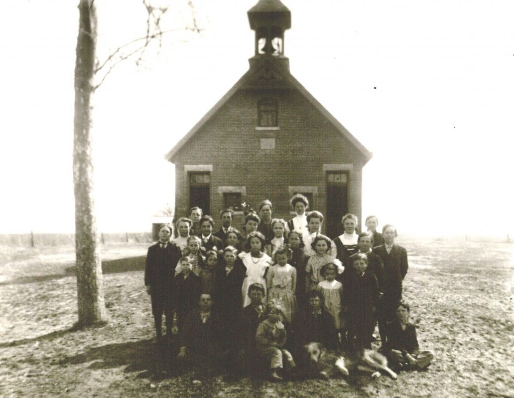 Photograph of Kaw Valley School No. 12, undated