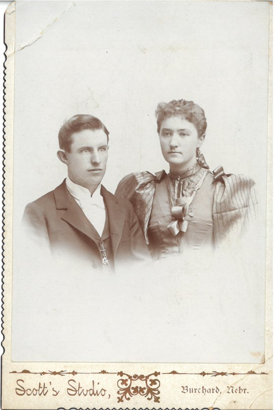 Photograph of James Gunther Hungate and his wife, Essie Smith Hungate