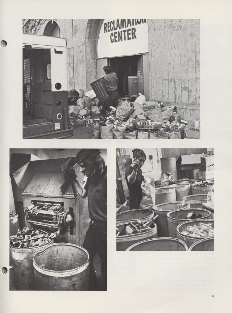 Photographs of the Whomper in the Jayhawker yearbook, Fall 1972