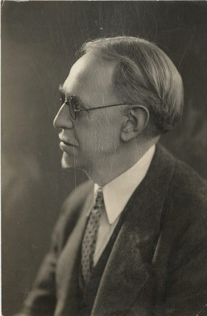 A portrait of Edwin M. Hopkins, undated