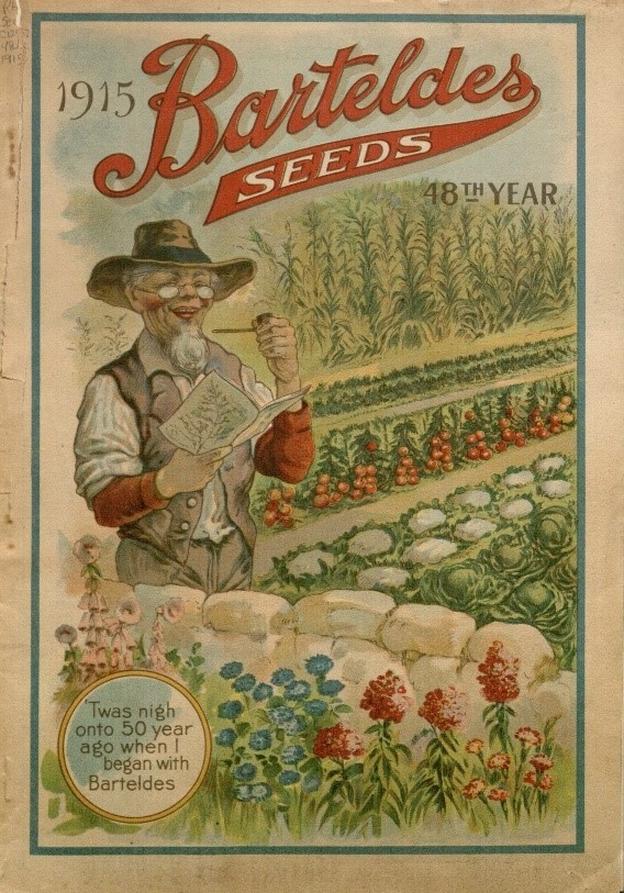 Cover of the Barteldes seed catalog, 1915