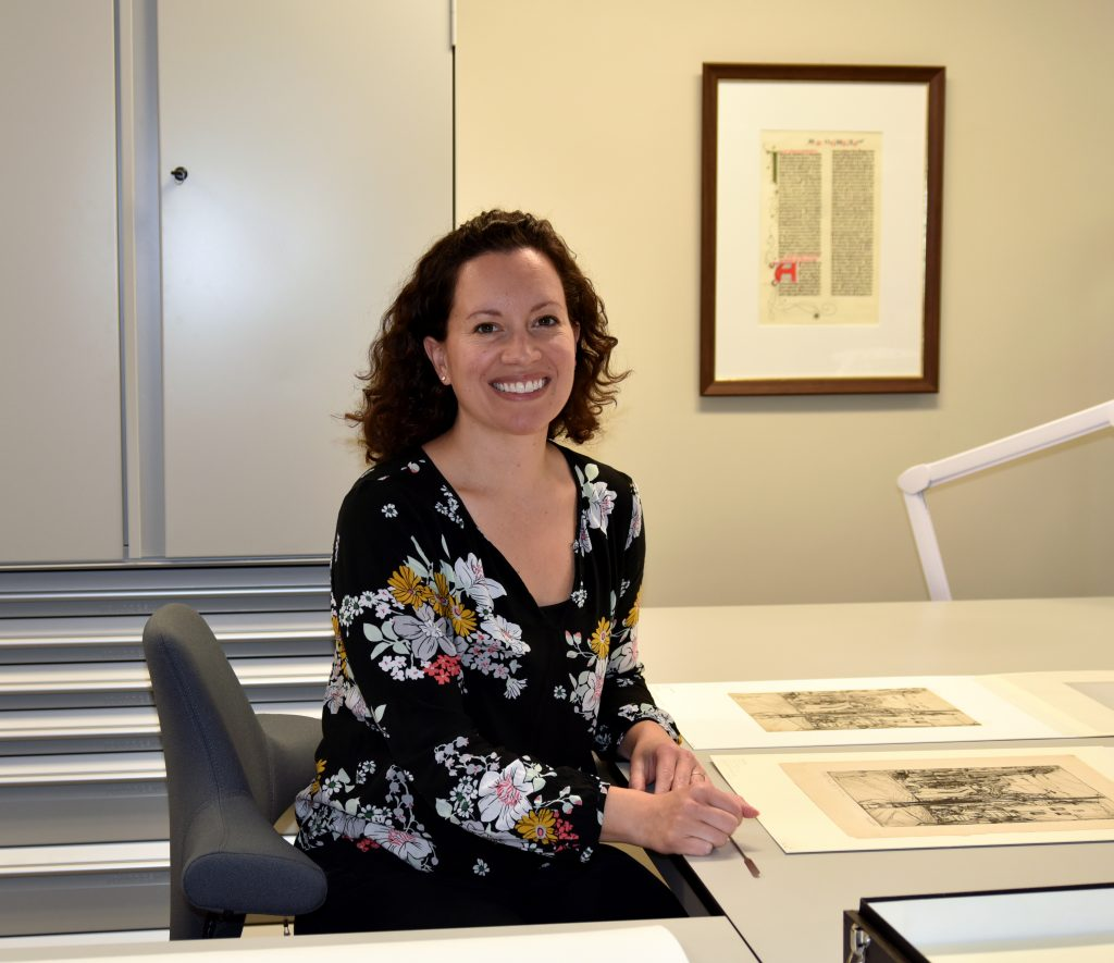 Jacinta Johnson is our new Associate Paper Conservator, Mellon Initiative.