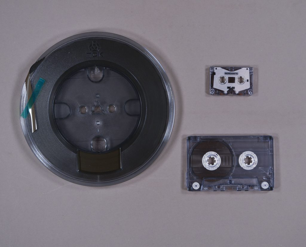 Examples of audio formats, University of Kansas Libraries