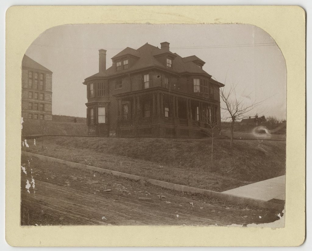 Photograph of the KU Chancellor's Residence at 1345 Louisiana, 1897