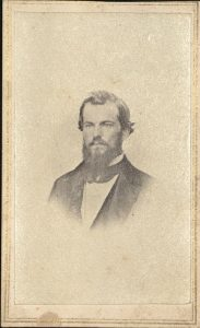 Carte de visite of John Lewis Crane. Photographer L. M. Price, no location.