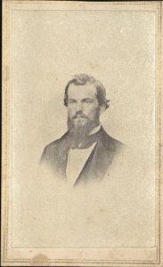 Carte de visite of John Lewis Crane. Photographer L. M. Price, no location.