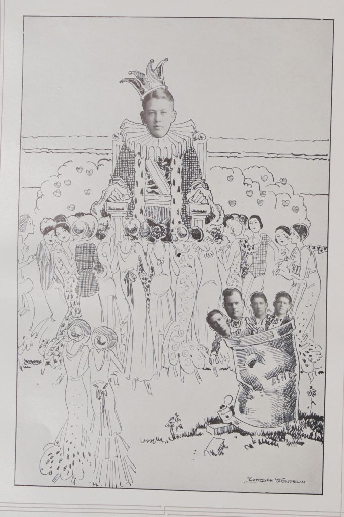 Page from 1931 Jayhawker yearbook